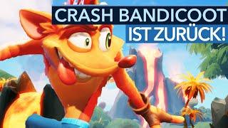 Eine der besten PlayStation-Serien wird fortgesetzt! - Gameplay-Preview zu Crash Bandicoot 4
