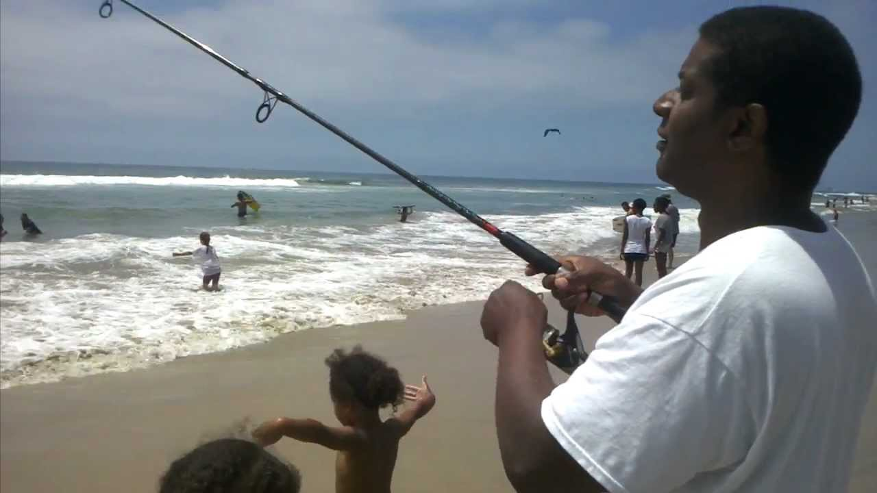 Fishing Huntington Beach