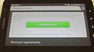 Descargar e Instalar WhatsApp en Tablet Android WiFi sin 3G