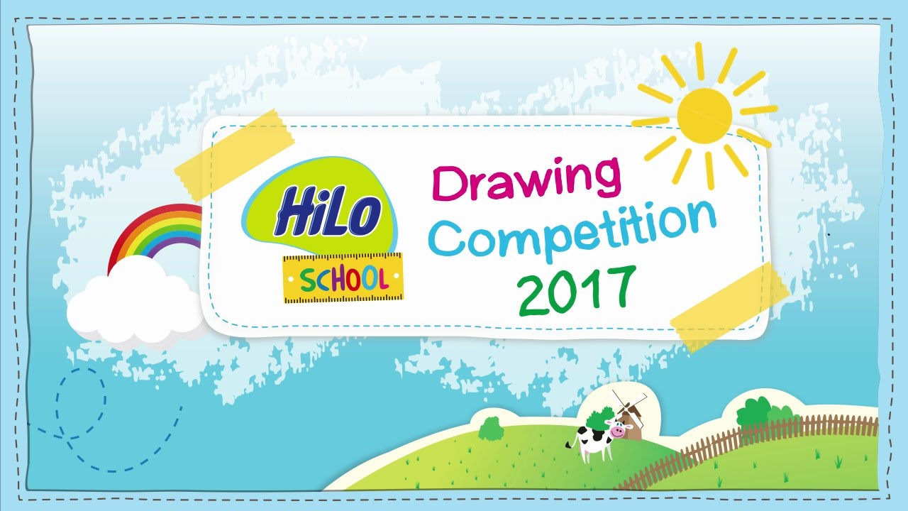 HiLo School Drawing Competition 2017  YouTube