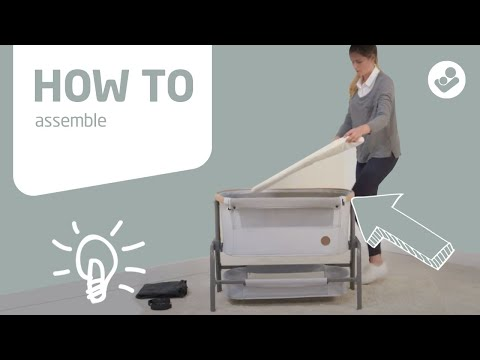 Maxi-Cosi | Iora 2-in-1 bedside sleeper | How to assemble