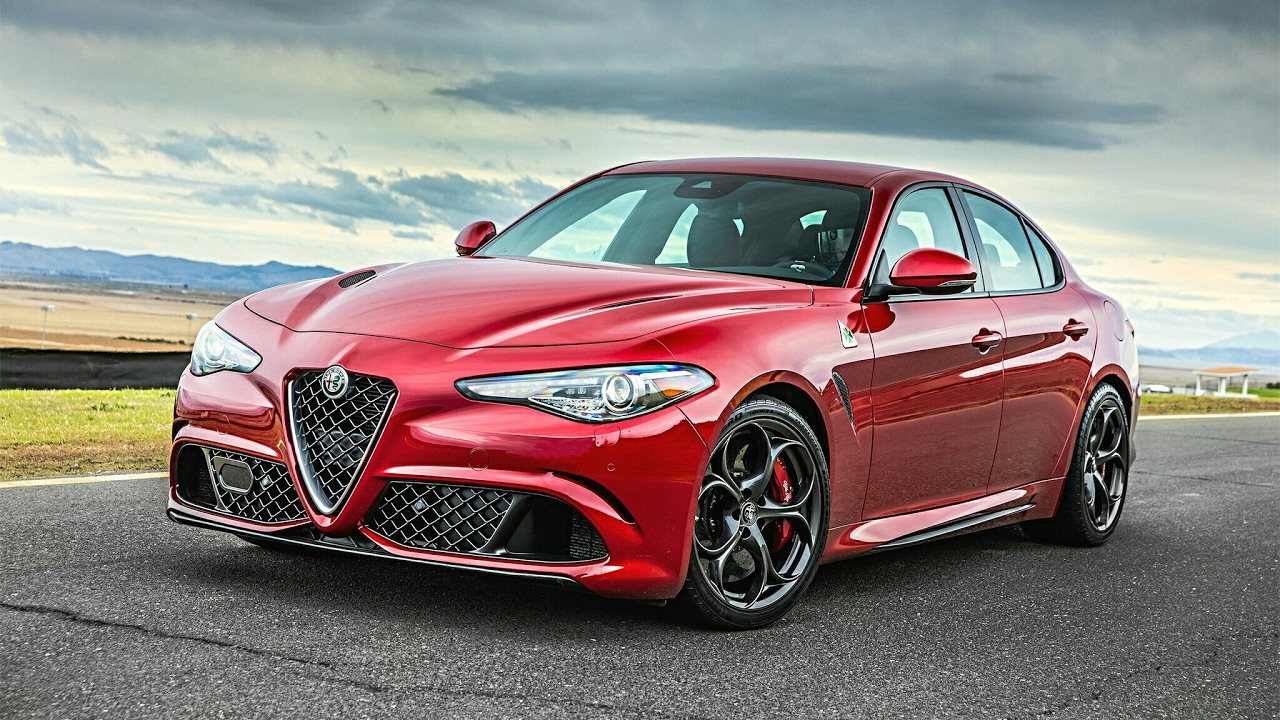 2017 Alfa Romeo Giulia Quadrifoglio Interior Exterior Engine And Drive Youtube