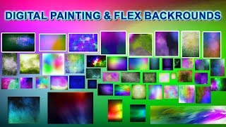 DIGITAL PAINTING BACKROUNDS AND FLEX BACKROUNDS PSD 2 PART Knowledge Tutorials Tamil