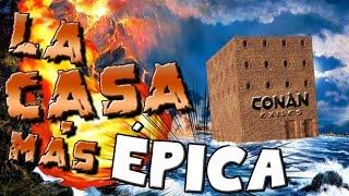 CONAN EXILES / LA CASA MÁS ÉPICA DEL SERVER