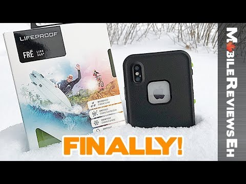 Should you get one? LifeProof Fre Review for the iPhone X w Lifeproof Slam and Next comparison