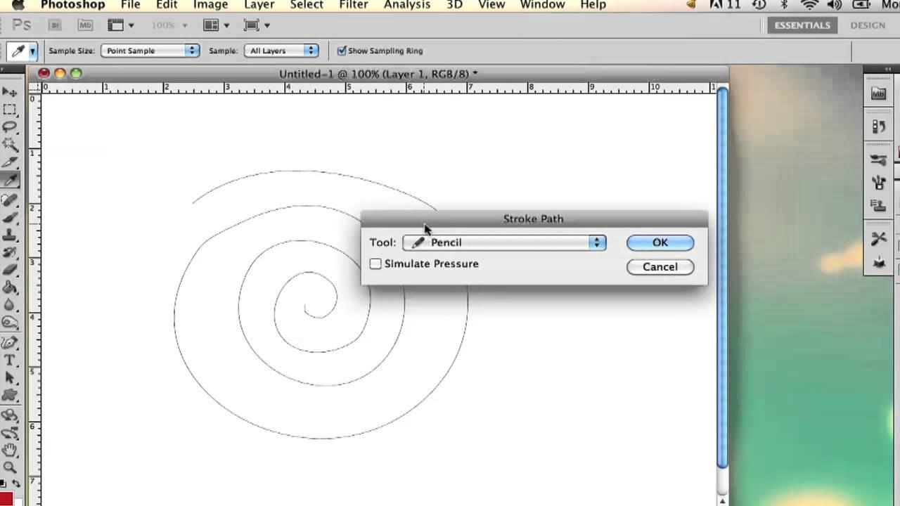 How to Create Swirls on Photoshop : Adobe Photoshop - YouTube