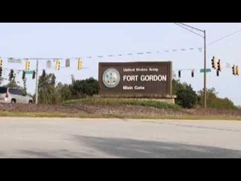 Clips of Fort Gordon, Georgia