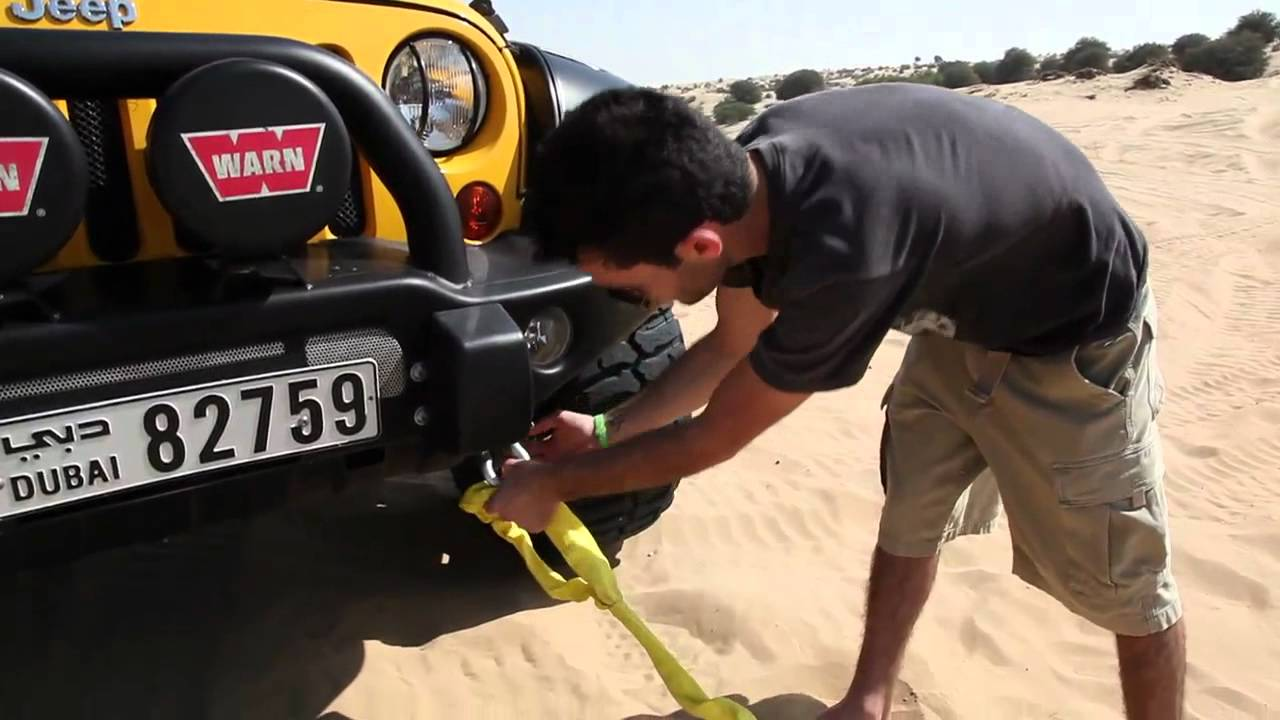 How To Tow A Car With A Strap Youtube
