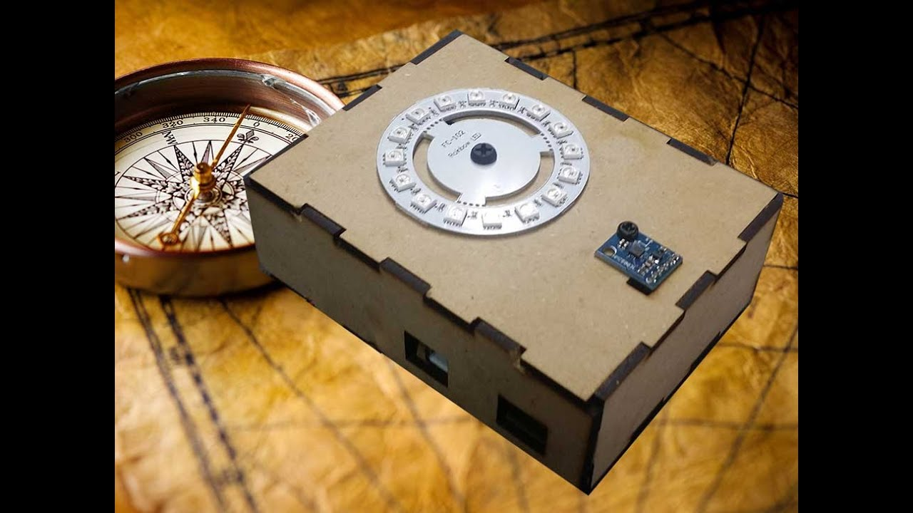 Let s build an arduino electronic compass using the
