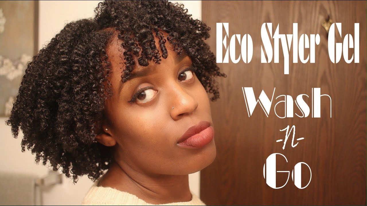 Eco Styler Gel Quot Wash N Go Quot Defined Curls Natural Hair