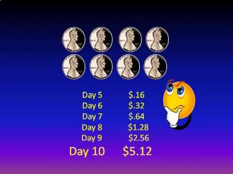 A Penny a Day Compound Interest at it's Finest - How Compound Interest Works