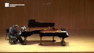 F  SCHUBERT Fantasia en Fa menor D 940 per a piano a quatre mans