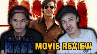MOVIE REVIEW - AMERICAN MADE, SAMBIL MUKBANG RICHESEE FIRE WINGS! (BAHASA)