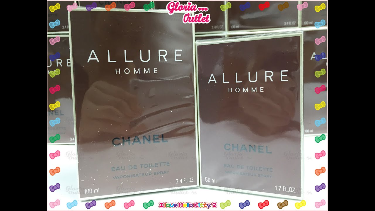 633127a2013 Chanel Allure Homme Eau de Toilette Men Fragrance Spray Box Sealed  100ml3.4fl.oz 50 ml 1.7 oz