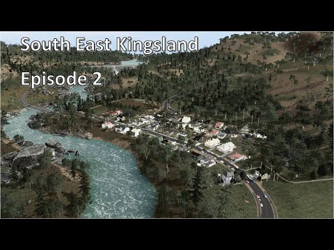 Valley Town, Wollumbin Dam and Tyrone Bay - Cities Skylines - South East Kingsland - Episode 2 |