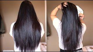 MY HAIR CARE ROUTINE (TIPS, SECRETS) + KIM K SLEEKY STRAIGHT HAIR