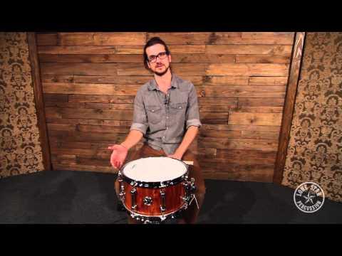 "Red Rock Drums Australia 7 x 13"" Tasmanian Blackwood Snare Drum"