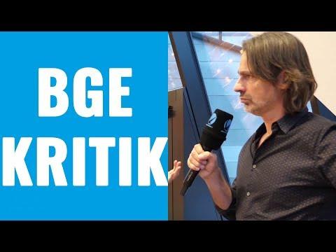 Kritische Fragen zum BGE – Richard David Precht im Interview