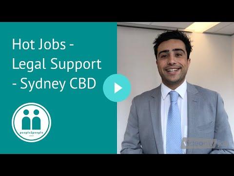 Hot Jobs - Legal Support - Sydney CBD