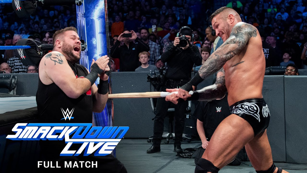 Download FULL MATCH - Randy Orton vs. Kevin Owens – No Disqualification Match: SmackDown LIVE, Nov. 28, 2017