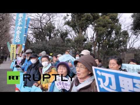Okinawa, Japan protests US military base