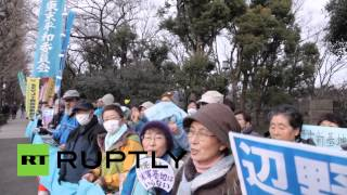 Okinawa, Japan protests US military base