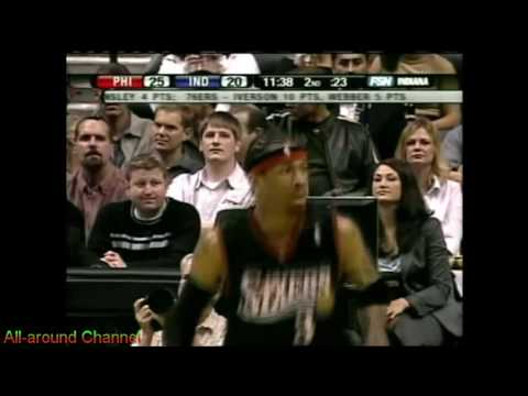 Allen Iverson 20 points @ Indiana Pacers, 2006-07. First Loss of the Season.