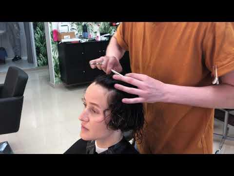 Стрижка на кудрявые волосы