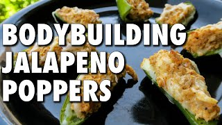 Low-carb Turkey Jalapeno Poppers (easy Bodybuilding Recipe)