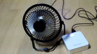 탁상용 USB 미니선풍기 Lileng 815 엔틱 시원…