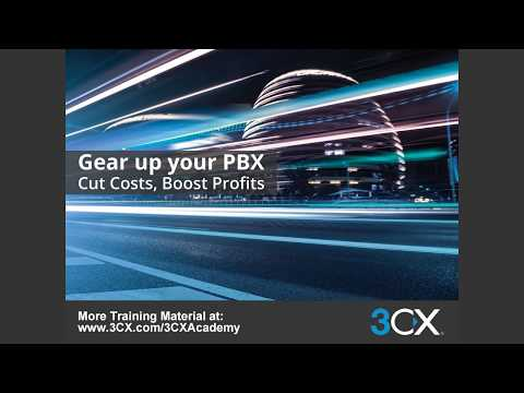 3CX Advanced Training: 2  Configuring Outbound Routing v15 5