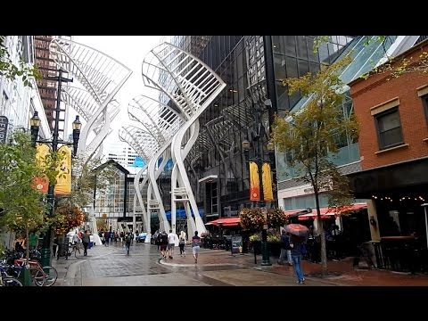 MUST VISIT CALGARY DOWNTOWN 8 Avenue Walk