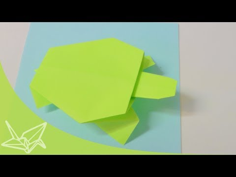 Easy Origami Turtle - How to Make Turtle Step by Step - YouTube | 360x480