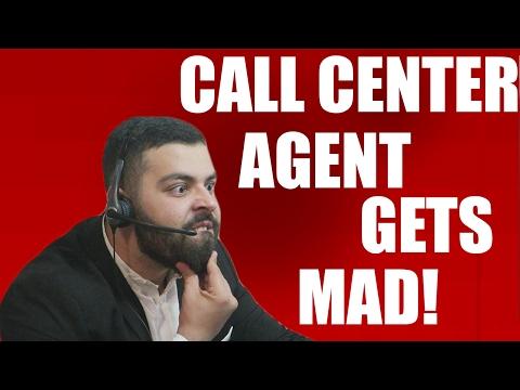 CALL CENTER AGENT GOES CRAZY!!!!!
