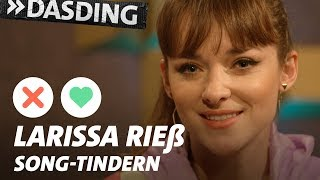 Gambar cover Song-Tindern: Larissa Rieß – Frozen-Verrücktheit und das Karnevals-Raupen-Trauma | DASDING Interview