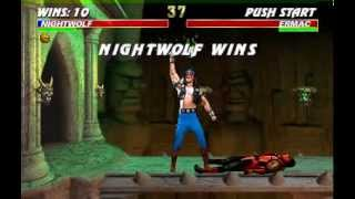 Ultimate Mortal Kombat 3 - Nightwolf Arcade Very Hard - SlayerValdes