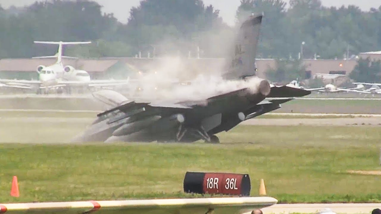Fighter Jet Overruns Runway
