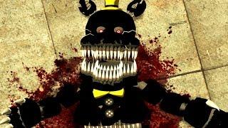 DEATH OF NIGHTMARE! (Gmod FNAF Sandbox Funny Moments) (Garry's Mod)
