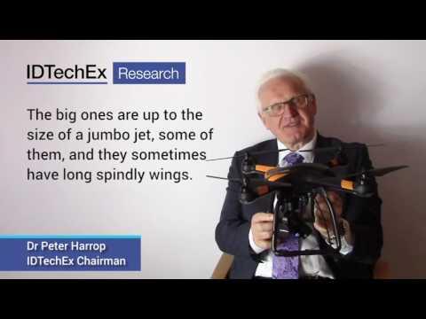 Electric UAV Drones With Dr Peter Harrop