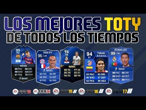 Los MEJORES TOTY que ha habido en Ultimate Team | Generaciones FIFA