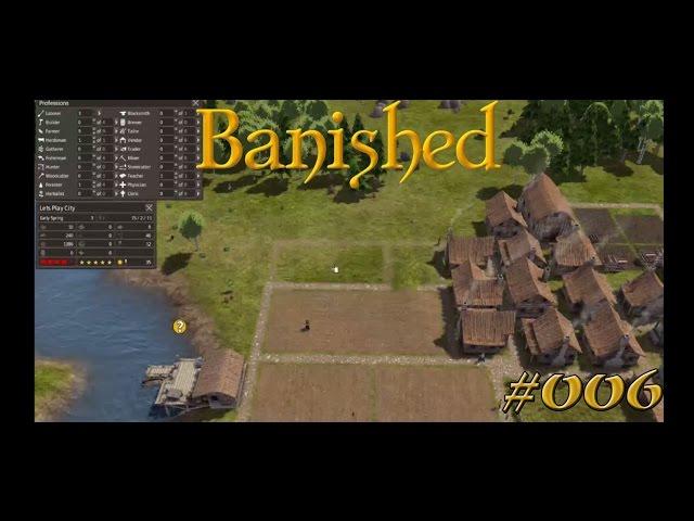 Let's Play Banished | Nachwuchs und Arbeiter | Folge #006