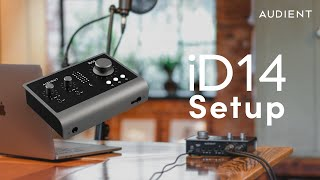 How to set up an Audient iD14 MkII Audio Interface