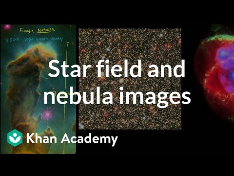 Star field and nebula images | Cosmology & Astronomy | Khan Academy