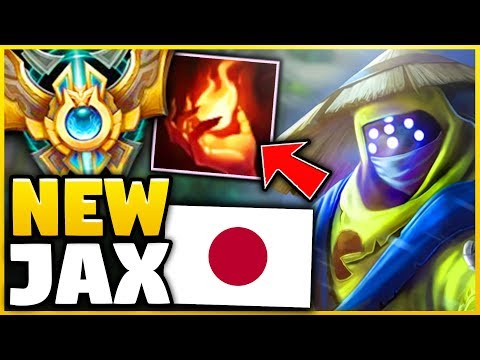 THIS 90% WINRATE JAX BUILD IS STOMPING CHALLENGER! (NEW OP STRATEGY) - League of Legends