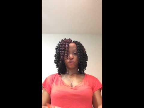 Crochet Hair Jamaican Bounce : Crochet Braids Jamaican Bounce Hair - YouTube