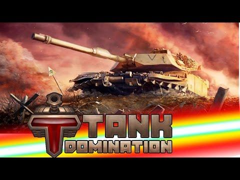 Tank Domination новая онлайн игра про танки, тестируем два боя))))
