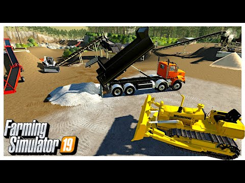 AUTOMATING AND BUY NEW EQUIPMENT FOR OUR OPEN PIT MINE | Farming Simulator 19 |