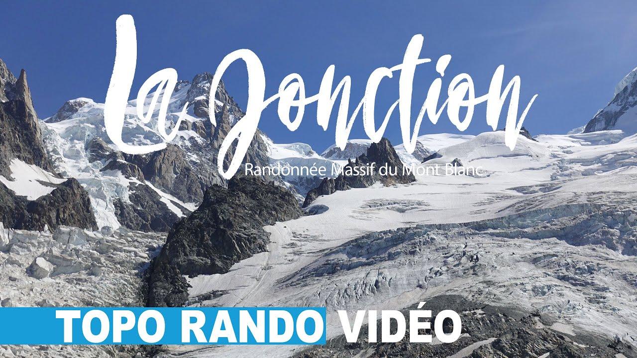 La Jonction Randonne Massif Du Mont Blanc Chamonix Glacier Des Bossons Et Taconnaz France Youtube