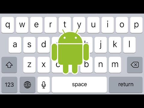 How To Get IOS / IPhone Keyboard On Android Device