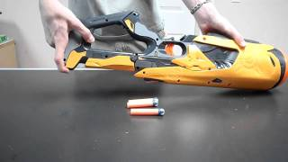 New Nerf Swarmfire Unboxing and Review (Dart Tag 2011)